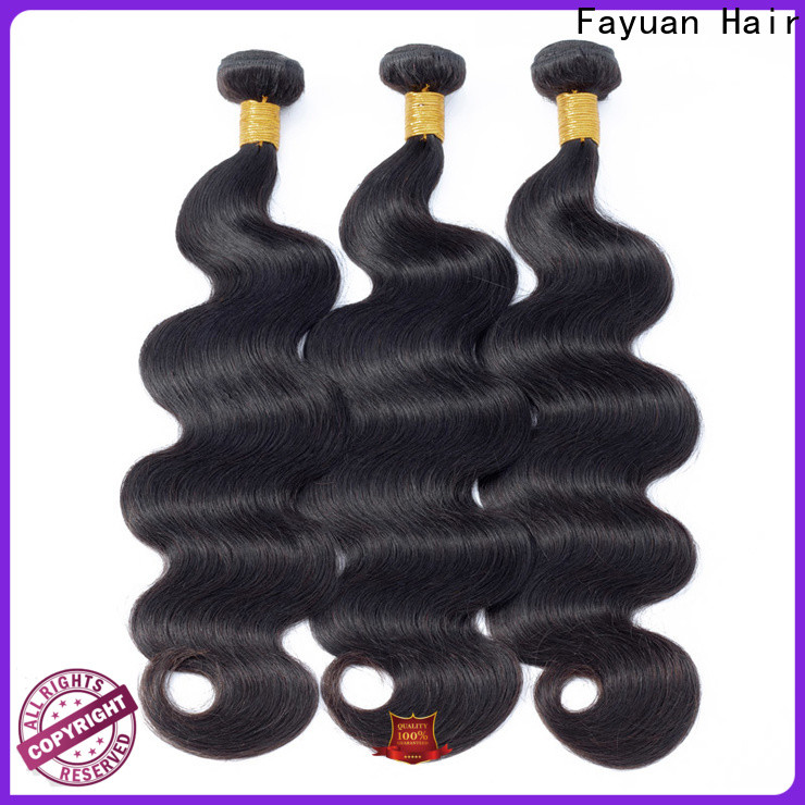 Fayuan Hair wave best peruvian hair factory for barbershop