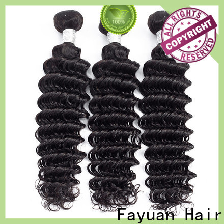 Fayuan Hair Top peruvian deep wave hair manufacturers for selling