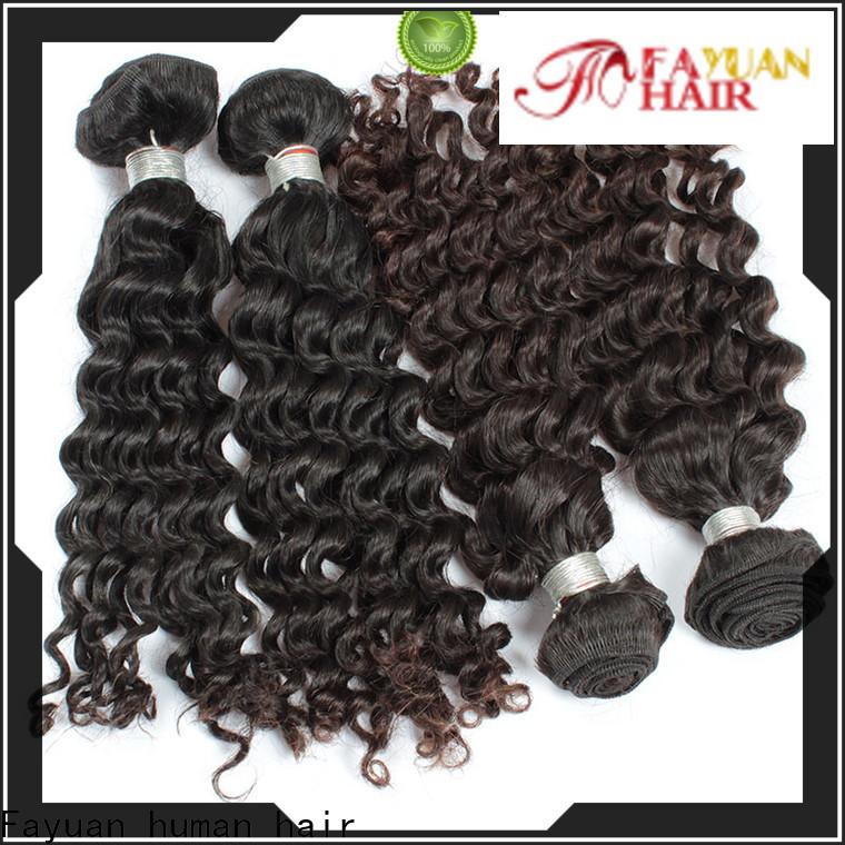 Fayuan Hair Latest malaysian curly bundles manufacturers for street