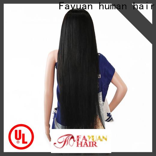 Fayuan Hair human custom made wig caps company for barbershop