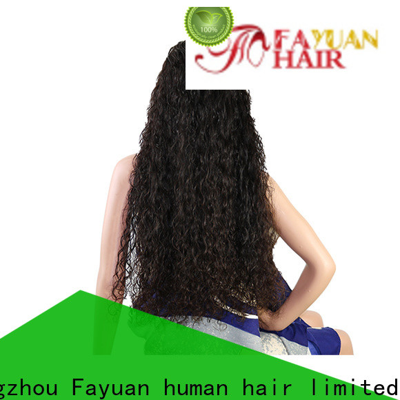 Fayuan Hair holiday custom made human hair wigs manufacturers for selling