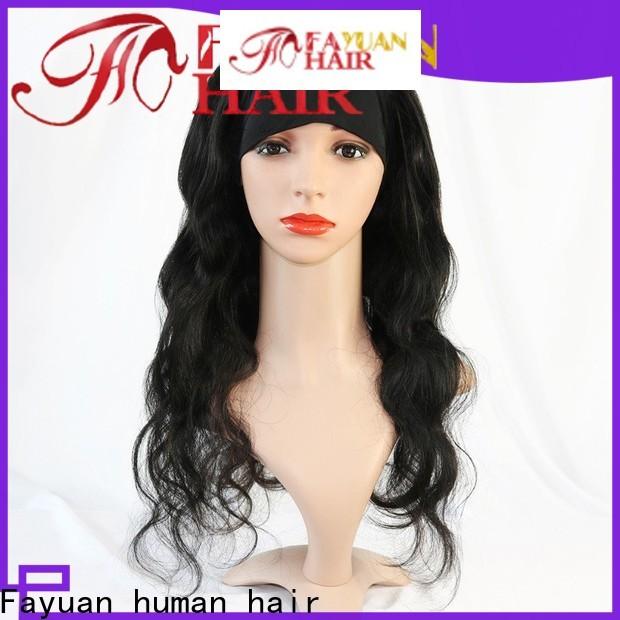 Fayuan Hair Custom premium lace wigs Supply for men