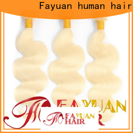 Custom human hair weave bundles straight manufacturers for men