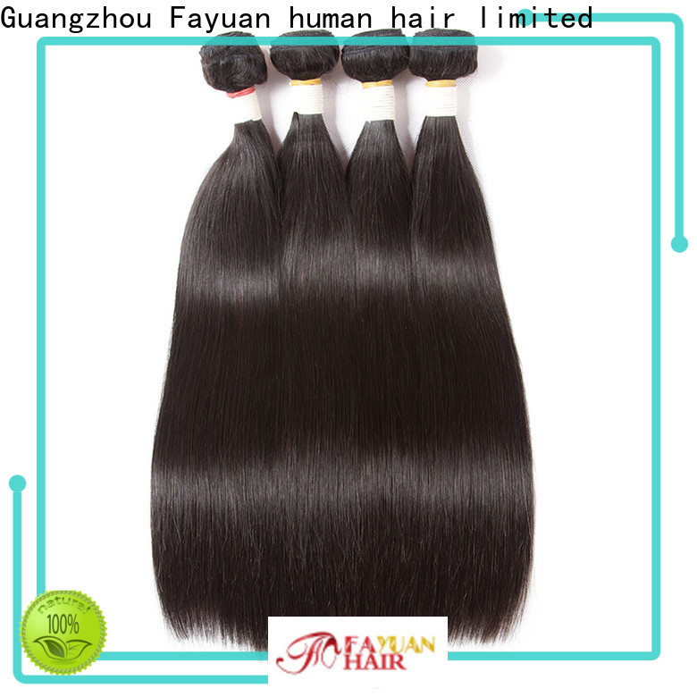 Fayuan Hair Wholesale human hair weave bundles Suppliers for barbershop