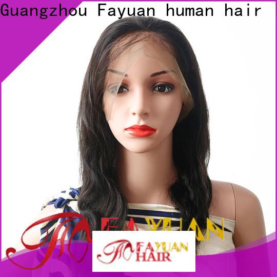 Fayuan Hair Top human hair lace wigs factory for women
