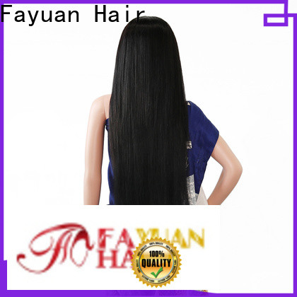 High-quality custom wig makers virgin factory for selling