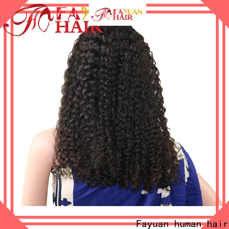 Custom affordable human lace front wigs sales factory for men