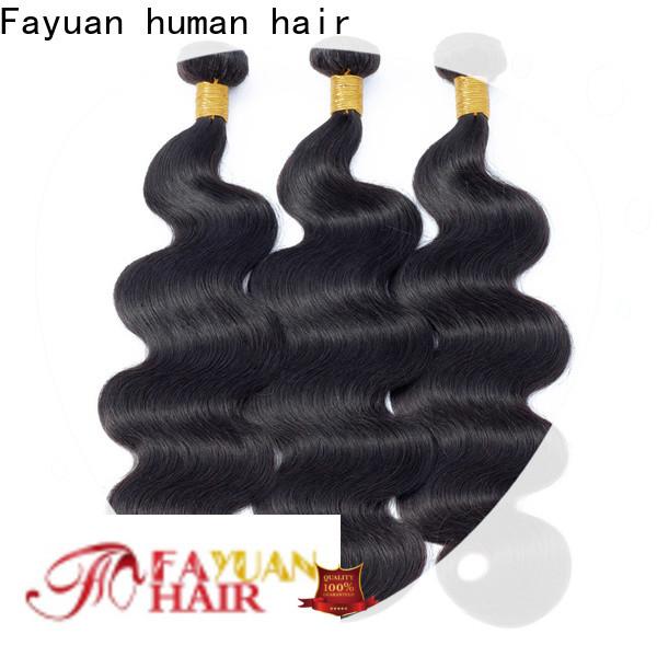 Fayuan Hair Custom peruvian hair bundle deals manufacturers for barbershop