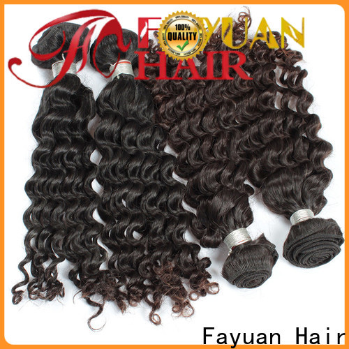 Fayuan Hair High-quality malaysian hair weave Supply for barbershopp