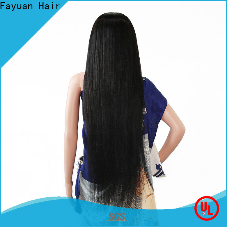 High-quality custom made full lace wigs sales Suppliers for street