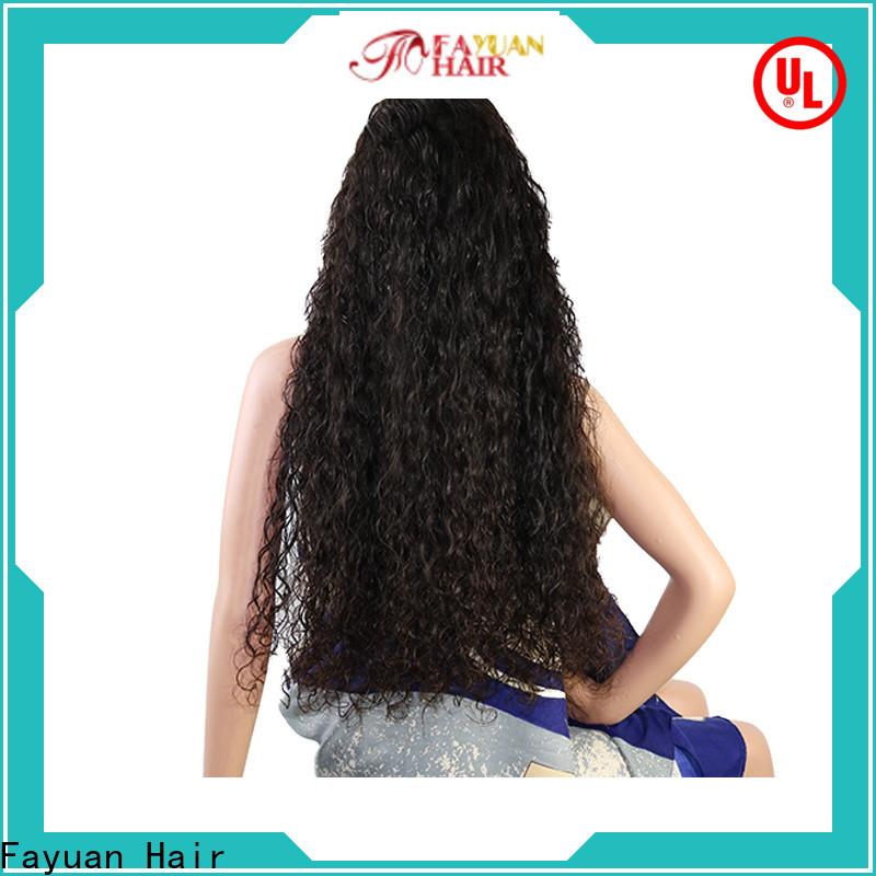 Fayuan Hair Top custom virgin hair wigs Supply for selling