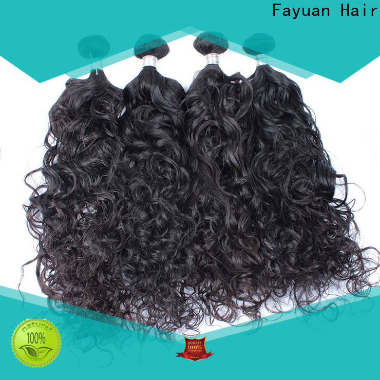 Fayuan Hair grade curly hair extensions Supply for barbershopp