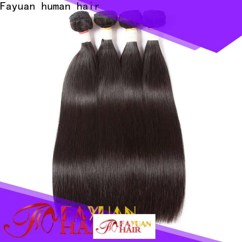 Fayuan Hair Custom wet and wavy hair weave for business for selling