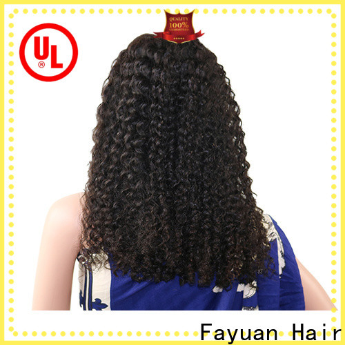 Fayuan Hair xmas good quality lace front wigs Suppliers for men