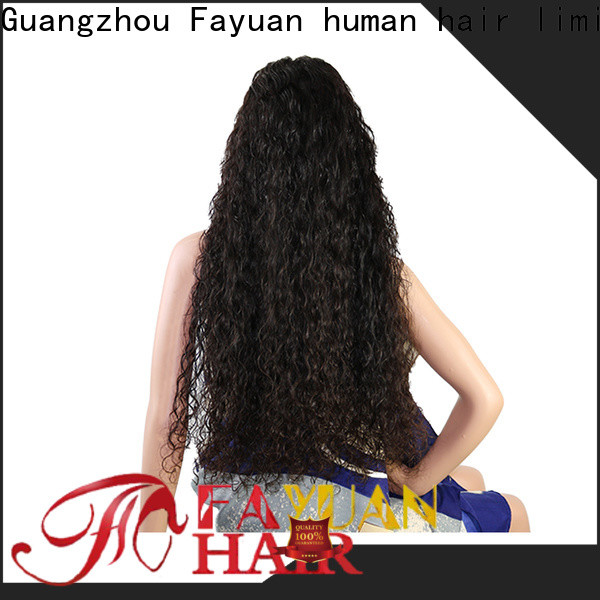 Fayuan Hair wig custom human hair lace front wigs Suppliers for men