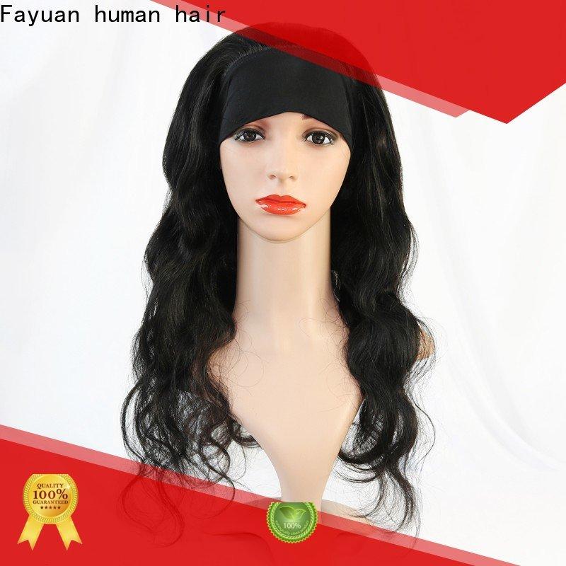 Latest black wig online Supply for men