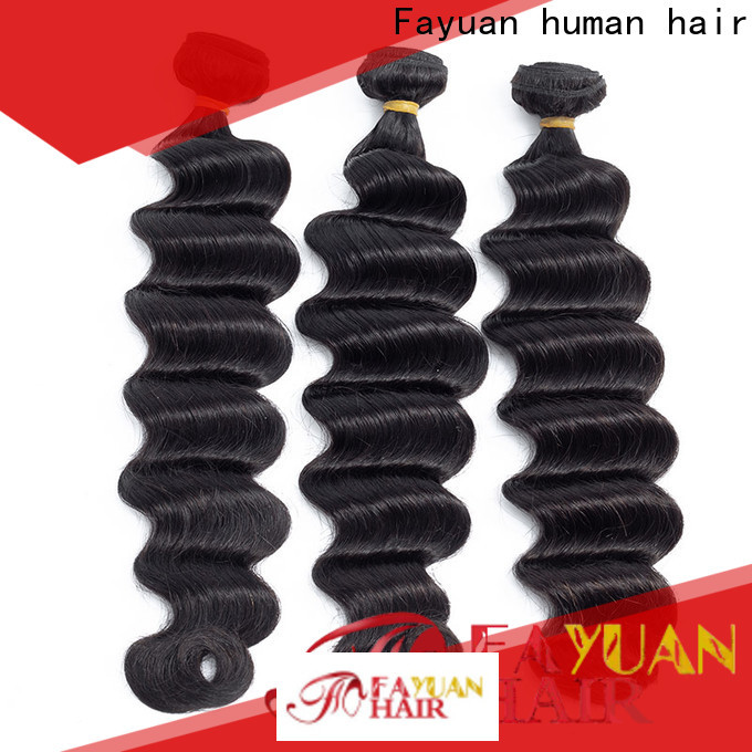 Fayuan Hair Top indian curly hair extensions company for barbershop