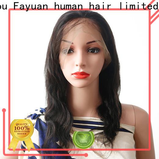 Fayuan Hair Top custom lace wigs factory for men
