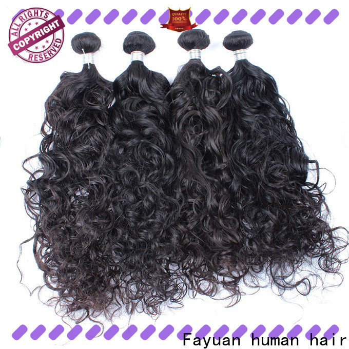 Fayuan Hair Top malaysian curly hair bundle deals company for street