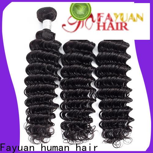 Fayuan Hair bundles shop peruvian hair company for street