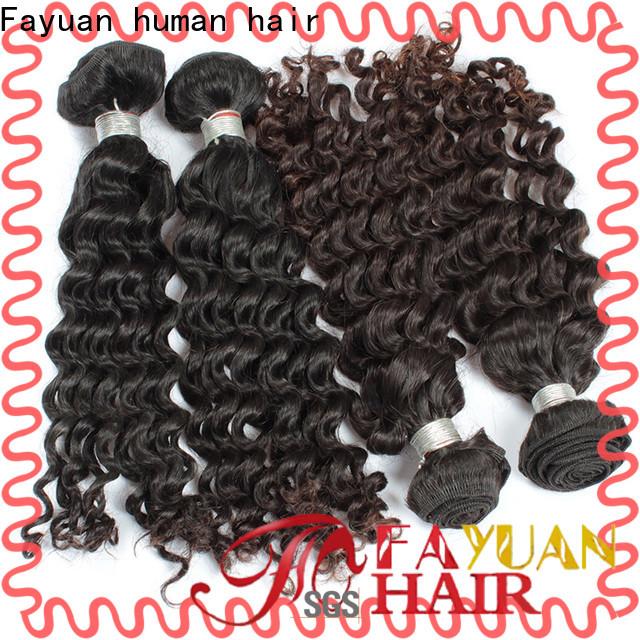 Custom malaysian human hair bundles grade factory for barbershopp