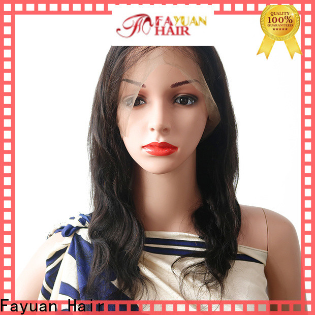Fayuan Hair full best full lace wigs online factory for barbershop