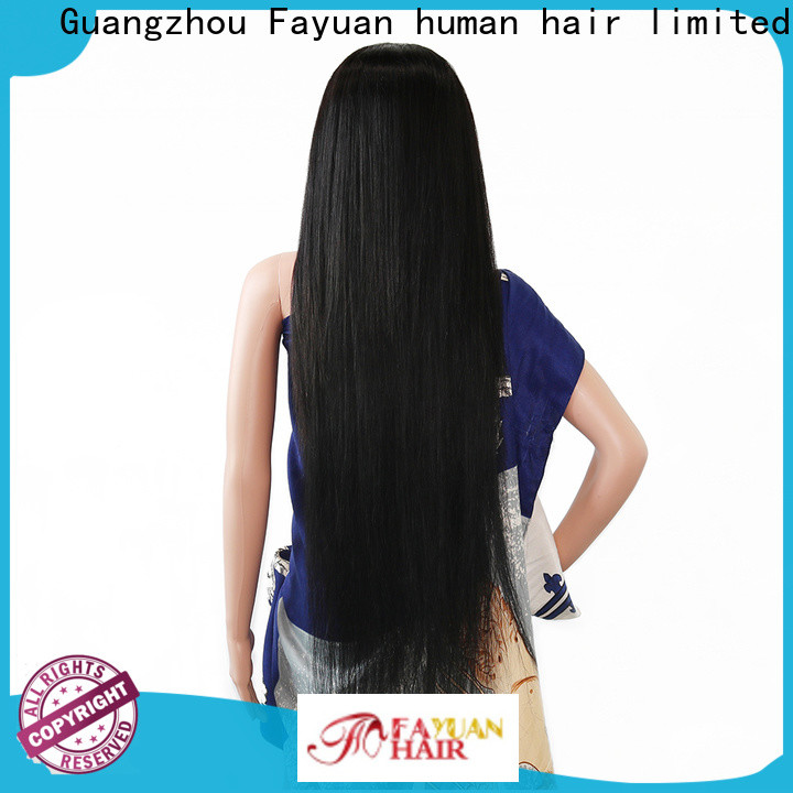 Fayuan Hair New custom made real hair wigs factory for selling