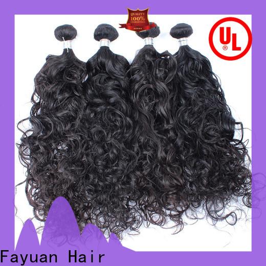 Custom malaysian curly human hair virgin Supply for women