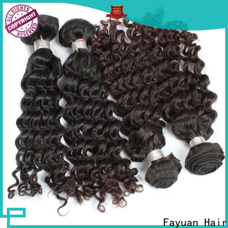 Fayuan Hair High-quality malaysian curly hair weave Suppliers for street
