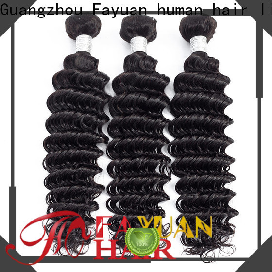 Fayuan Hair grade peruvian deep wave hair manufacturers for selling