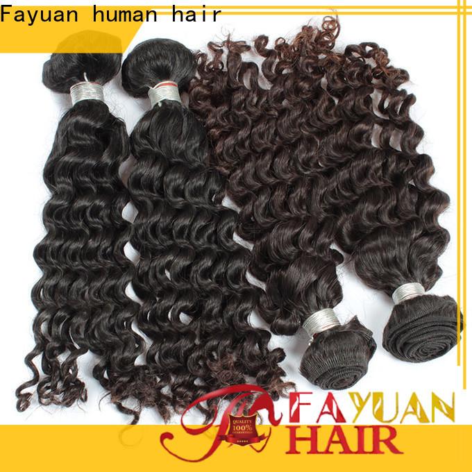 Fayuan Hair Latest malaysian hair bundles for sale for business for street