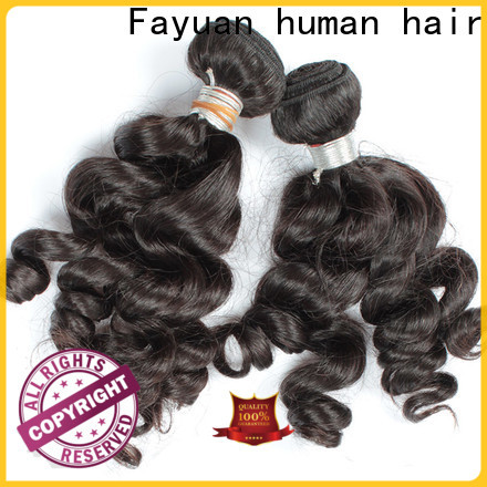 Fayuan Hair Wholesale indian hair weave for cheap company for men