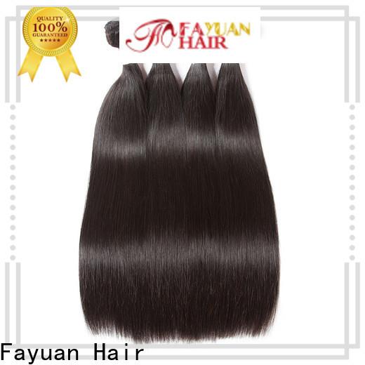 Fayuan Hair Custom hair bundles factory for men