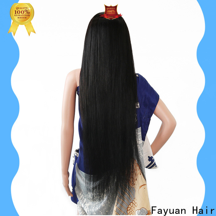 Fayuan Hair New custom human wigs for business for women
