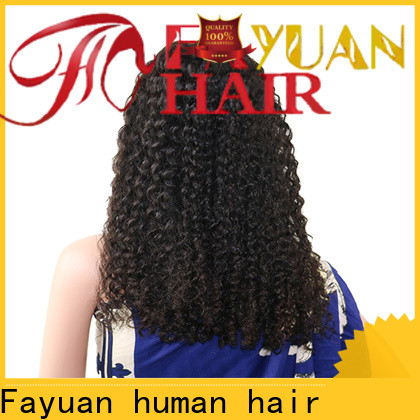 Fayuan Hair wig swiss lace front wigs company for men