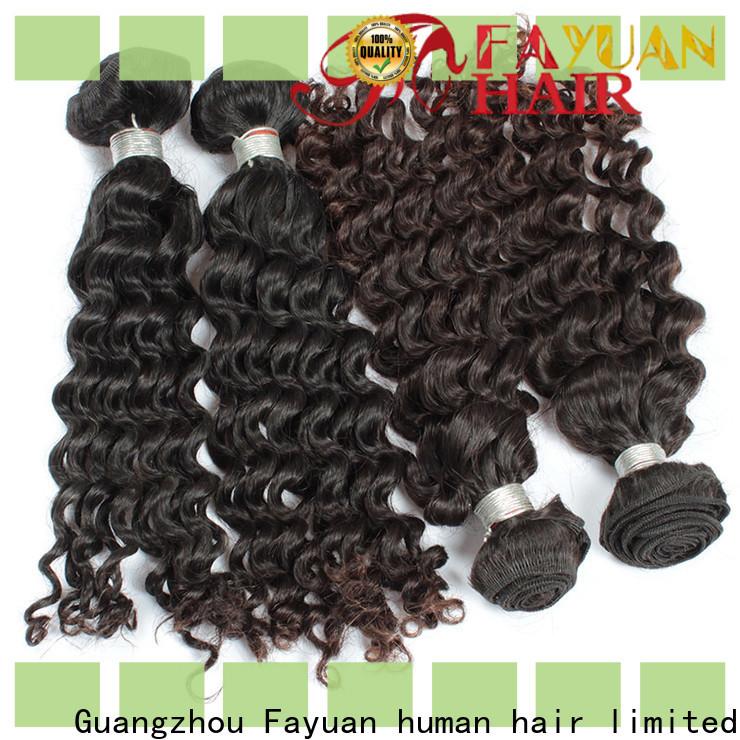 Custom malaysian wavy hair hair Supply for street