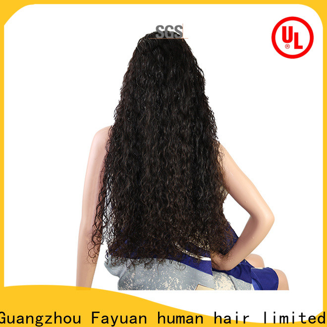 Fayuan Hair sales custom wig prices Suppliers for street