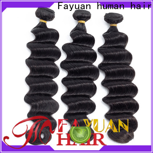Fayuan Hair Latest indian hair wholesale suppliers Supply for street