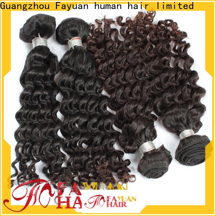 Fayuan Hair grade malaysian human hair weave factory for selling