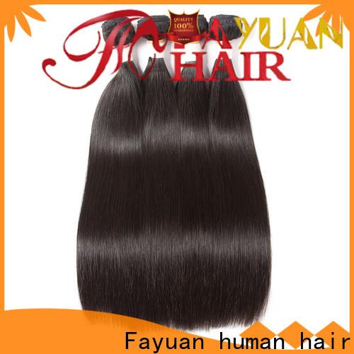 Fayuan Hair human brazilian hair bundles wholesale factory for selling