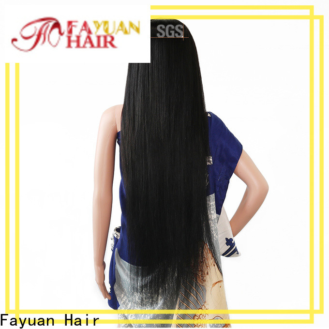 Fayuan Hair price custom made lace front wigs for business for men