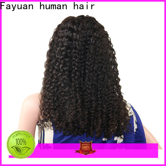 Fayuan Hair New lace wig company for selling