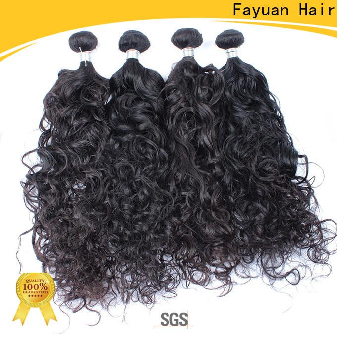 Fayuan Hair Wholesale malaysian wavy hair bundles manufacturers for men