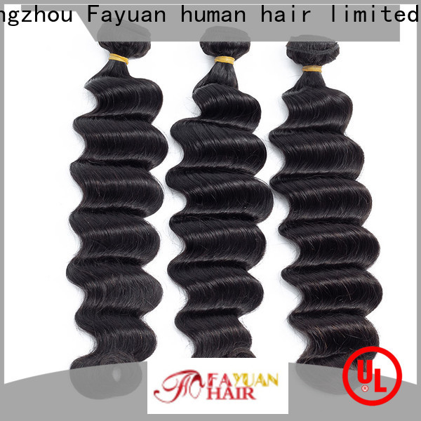 Fayuan Hair indian indian hair weave for sale company for women