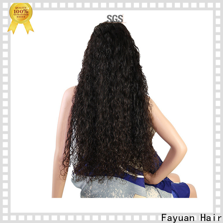 Fayuan Hair Custom custom wig shop manufacturers for street