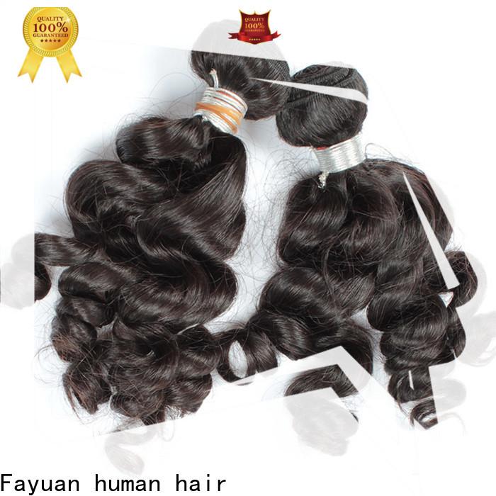 Fayuan Hair virgin indian hair factory for selling