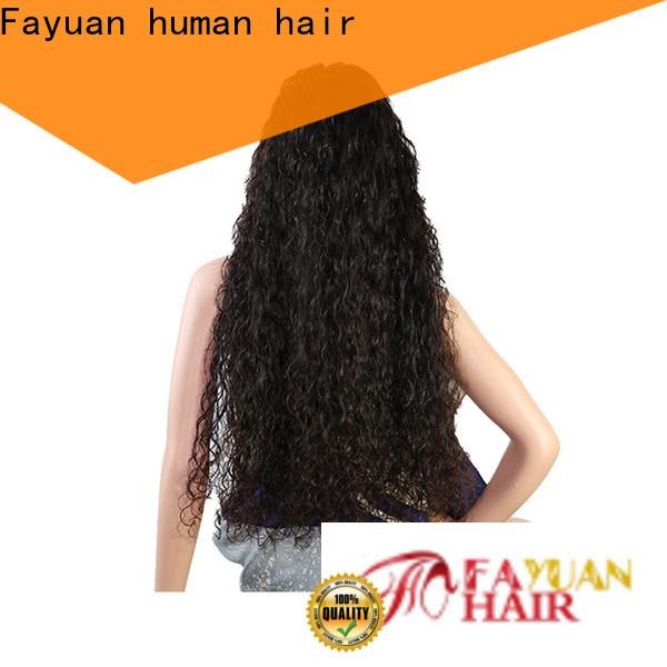Fayuan Hair hair custom made lace frontals manufacturers for men