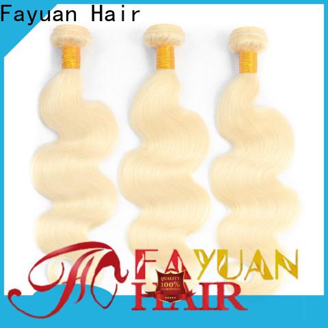Fayuan Hair straight cheap brazilian hair extensions Suppliers for street