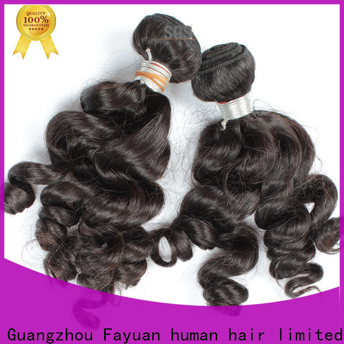 Fayuan Hair New hair extensions for indian hair Suppliers for men