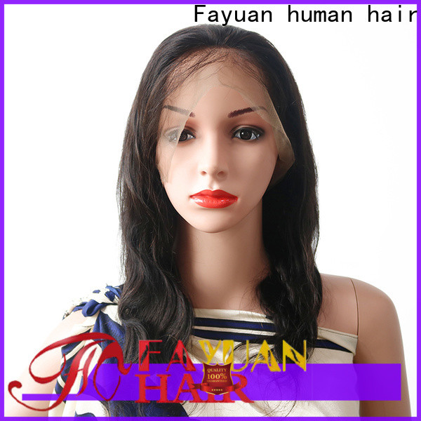 Fayuan Hair human lace wigs for sale Supply for street